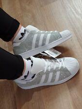 adidas Superstar Sneaker in Silber für Damen günstig kaufen