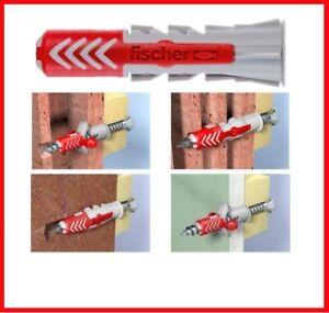 Fischer Duopower Universal Wall Plug  6mm 8mm 10mm High Performance