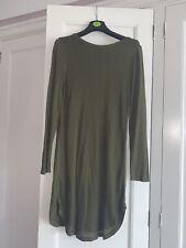 Dorothy Perkins Olive Jumper Dress 12