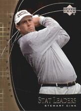 "2001 Upper Deck Golf ""Stat Leaders"" Stewart Cink"