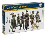 Italeri 1/35 EE.UU. Infantería a bordo #6522