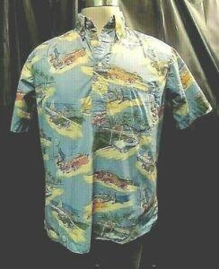 Vintage Reyn Spooner Beach Surfer Shirt