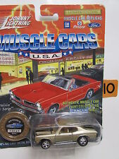 JOHNNY  LIGHTNING MUSCLE CARS SERIES 5 CHEVELLE SS GOLD