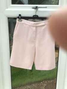 Cos Bermuda Shorts - Pink - EUR 38 - UK 12 - VG Condition