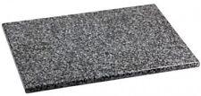 16 x 12 in Rectangle Black Granite Stone Cutting Chopping Board Home Kitchen NEW
