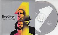 BEE GEES Number Ones Club Promo 2004 UK 4-trk promo CD card sleeve