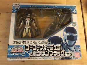 GoGo Sentai Boukenger Racing Car Power Rangers Black 2 Bouken Japan Bandai 2006