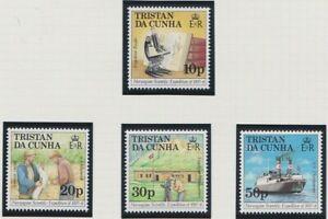 Tristan da Cunha 1987 Norwegian science expedition MINT set sg434-437 MNH