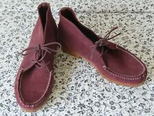 quoddy brown suede ankle chukka sz 9
