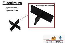 Fugenkreuze 3mm für Terrassenplatten Bodenplatten Fliesenkreuze 3 mm