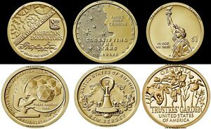 INNOVATION DOLLARS 2018-2021 US P or D Uncirculated Dollar Coins Pick Yours
