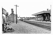 pt8782 - Isleham Railway Station , Cambridgeshire - photograph 6x4