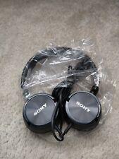 Sony MDR-ZX300 Headband Headphones - Black