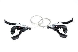 Fahrrad Schalt Brems Hebel SET SHIMANO Acera Shifter 3x9-fach ST-EF65 Schaltung