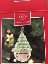 Lenox American By Design Ornament Sleigh Bell Tree Euc!