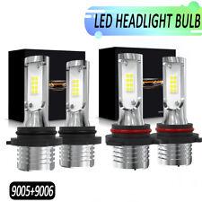 9005 9006 Combo LED Headlight Kit for BUICK RAINIER Hi/Lo Beam 6000K 160W 9600LM