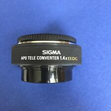 Sigma APO 1.4x Teleconverter EX DG - Pentax K