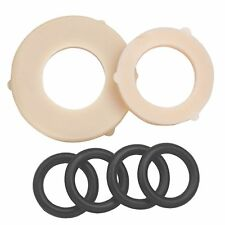 2x Pope GARDEN TAP WASHER SET For 19 & 25mm Female & Male Snap On Connections