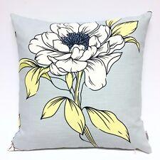 Handmade ASHLEY WILDE DUCK EGG BLUE FLORAL 100% Cotton Cushion Cover Various