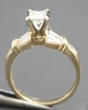 NT 14 K Yellow Gold Diamond Ring Size 7