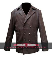 John Hurt's War Doctor Who Costume Leather Coat Jacket