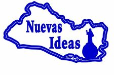 El Salvador , Nayib Bukele , Vinyl decal ,Stickers, for cars,laptops and more