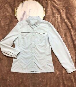 L.L.Bean Light Blue Vented Button Down Shirt Womens' Size XS