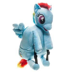 TV Show Friendship is Magic Brony MLP My Little Pony Rainbow Dash Plush Backpack
