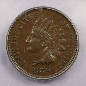 1879-P 1879 Indian Head Cent 1C ICG AU55