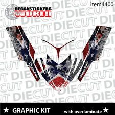 SLED GRAPHIC STICKER DECAL WRAP KIT ARCTIC M8 M7 M SERIES CROSSFIRE  06-11 4400