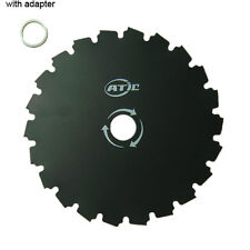 """8"""" BRUSH CUTTER TRIMMER BLADE 22 TOOTH 1"""" or 20mm arbor Washer New"""