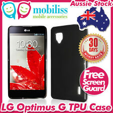Soft Jelly TPU Gel iSkin Case Cover for LG Optimus G E975 E973 LS970 Telstra 4G