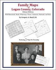 Family Maps Logan County Colorado Genealogy CO Plat