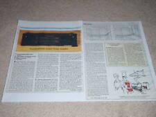 Soundcraftsmen A2502 Amplificador Revisión, 2 Pgs ,