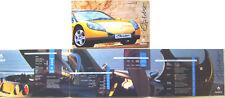 Renault Sport Spider 2.0 16v 1996-97 Original Brochure