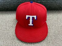 New York Rangers Flat Bill Fitted Hat by Reebok size L//XL TS73Z