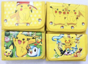 Pikachu Pokemon Boys Children Kids Cartoon Character Wallet Coin Purse Toy Gift