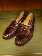 Giorgio Brutini Mens tassel loafers BROWN 10.5 D