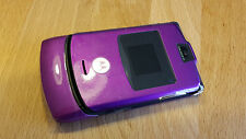 Motorola RAZR V3 in Purple / Lila ohne Simlock + brandingfrei  ***TOPP***