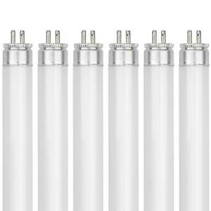 "(Pack Of 6) F8T5/CW 8 Watt 12"" T5 Linear Fluorescent Light Bulb 41K 8W 4100K NEW"