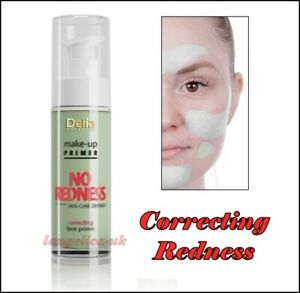 Make Up Primer Skin Care Defined Correcting Imperfections No Redness Delia 30 ml