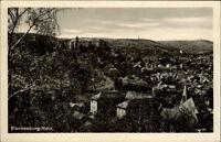 Blankenburg Sachsen-Anhalt AK ~1954 DDR Harz Panorama Burg Festung Stadt Häuser