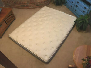 Sleep Number Queen Size iLE Model Mattress Top and Bottom Cover CLEAN