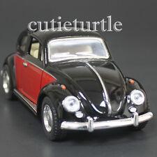 Kinsmart 1967 Classic Volkswagen Beetle Bug 1:32 Diecast Car 2 Tone Black Red