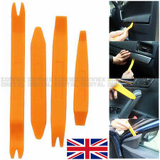 4x Auto Remover Door Body Trim Panel Dash GPS Audio Removal Open Pry Tool Set