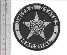 United States Marshal USMS Silver Badge Issued to the Deputies Vel hooks Cro