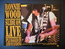 Ronnie Wood - Slide On Live poster!!!