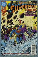 Adventures of Superman #508 1994 Challengers of the Unknown Appearance Kitson DC