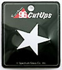 Stained Glass Supplies-Pre-Cut WHITE STAR (Free Shipping)