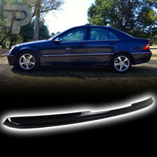 UNPAINTED * 2001-2007 For Mercedes Benz W203 C-Class Sedan Trunk Lip Spoiler